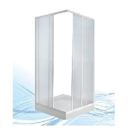 Душевая кабина Пластиклайн двухстенная квадратная