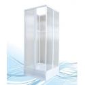 Душевая кабина Пластиклайн четырёхстенная квадратная