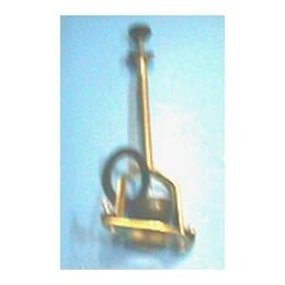 Узел выпуска для низких керамических смывных бачков(АБ-118),латунный