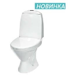 """Унитаз-компакт """"ПОЛАР"""" в комплекте с арматурой, креплением, сиденьем"""