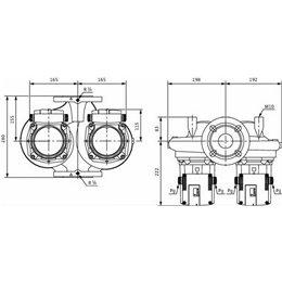 Циркуляционный насос Standard WILO TOP-SD 32/7 EM PN6/10