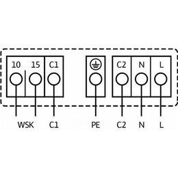 Циркуляционный насос Standard WILO TOP-SD 50/10 EM PN6/10