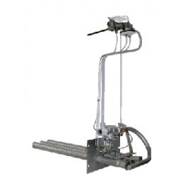 Устройство газогорелочное АГУ Контур-4 для котлов Комби (КЧМ-5-К) мощностью 50-96 кВт (5-9 секций)