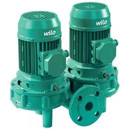 Циркуляционный насос с сухим ротором в исполнении Inline с фланцевым соединением WILO VeroTwin-DPL 50/150-4/2