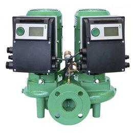 Циркуляционный насос с сухим ротором в исполнении Inline с фланцевым соединением WILO VeroTwin-DP-E 65/120-3/2-R1