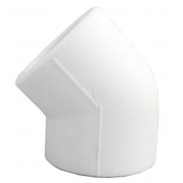 Угольник PP-R бел Дн 20х45гр VALFEX 10107020