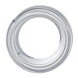 Труба металлопластиковая Pex-Al-Pex Дн 16х2,0 Ру10 бухта 100м белый 95С Aquasfera 6001-01
