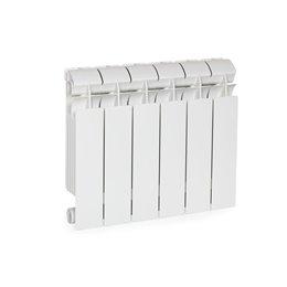 Биметаллический радиатор Rifar Base 350, 8 секций, боковое подключение