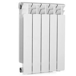 Биметаллический радиатор Rifar Base 500, 9 секций, боковое подключение