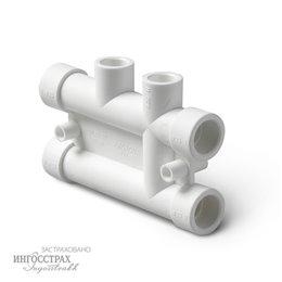 PP-R Распределительный блок Pro Aqua для систем отопления 25-20