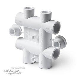 PP-R Распределительный блок Pro Aqua для систем водоснабжения 25-20