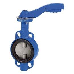 Затвор дисковый поворотный GENEBRE 2109 16 DN200 PN16 Тmax120°C