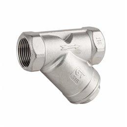 Фильтр сетчатый GENEBRE 2460 02 DN08 PN40 корпус-нерж. сталь, Tmax240°C ВР/ВР
