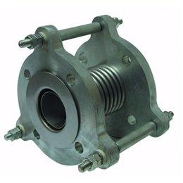 Компенсатор фланцевый металлический GENEBRE 2835 12 DN100 PN16 нерж. AISI 304, Tmax300°C Ф/Ф