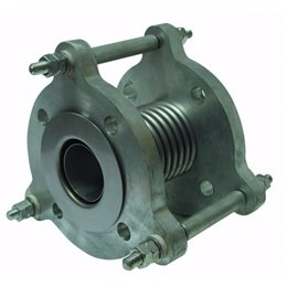 Компенсатор фланцевый металлический GENEBRE 2835 06 DN025 PN16 нерж. AISI 304, Tmax300°C Ф/Ф