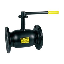 Кран шаровой стальной Ballomax КШТ 60.113 Ду 25 Ру40 фл полнопроходной BROEN КШТ 60.113.025
