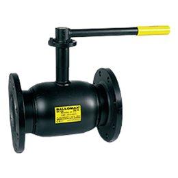 Кран шаровой стальной Ballomax КШТ 60.113 Ду 80 Ру16 фл полнопроходной BROEN КШТ 60.113.080