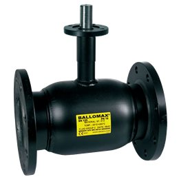 Кран шаровой стальной Ballomax КШТ 61.103 Ду 300 Ру16 фл под редуктор, электропривод BROEN КШТ 61.103.300