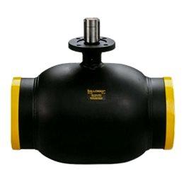 Кран шаровой стальной Ballomax КШТ 61.102 Ду 300 Ру25 под приварку под редуктор, электропривод BROEN КШТ 61.102.300