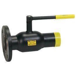 Кран шаровой стальной Ballomax КШТ 61.104 Ду 100 Ру25 фл/под приварку BROEN КШТ 60.104.100