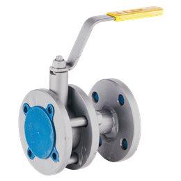 Кран шаровой стальной 11с67п Ду 40 Ру16 фл полнопроходной LD КШ.Р.Ф.040.016.П/П.02