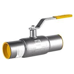 Кран шаровой стальной КШ.Ц.П Ду 100 Ру25 под приварку LD КШ.Ц.П.100/080.025.Н/П.02