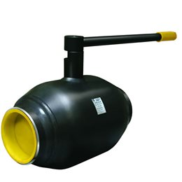 Кран шаровой стальной КШ.Ц.П Ду 32 Ру40 под приварку полнопроходной LD КШ.Ц.П.032.040.П/П.02