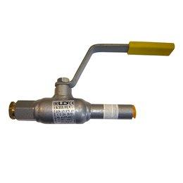 Кран шаровой спускной стальной КШ.Ц.С Ду 25 Ру40 под приварку сервисный LD КШ.Ц.С.025.040.Н/П.02