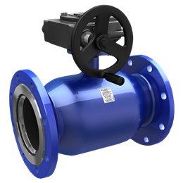 Кран шаровой стальной Energy Ду 500 Ру16 фл полнопроходной с редуктором LD КШ.Ц.Ф.Р.Energy.500.016.П/П.03