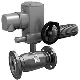 Кран шаровой стальной КШ.Ц.Ф.Э Ду 250 Ру25 фл полнопроходной под электропривод LD КШ.Ц.Ф.Э.250.025.П/П.02