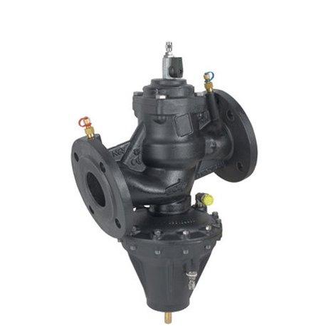 Клапан балансировочный автомат. 3767ВLP Ду65 регулятор перепада давл. 20-80 кПа PN16 FF с имп. трубкой Cimberio