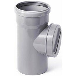 Ревизия канализационная ПВХ серая Дн 50 Хемкор
