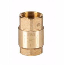 """Обратный клапан GENEBRE 3121 12 DN100 (4"""") PN12  корпус-латунь, уплотнение-NBR, ВР/ВР"""