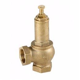 Предохранительный клапан GENEBRE 3190 04 DN15 (1/2'') PN16 корпус-латунь, Tmax200°C