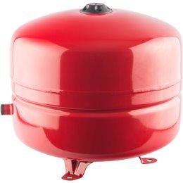Расширительный бак на отопление 35 л. (цвет красный) Stout