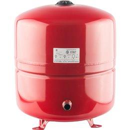 Расширительный бак на отопление 50 л. (цвет красный) Stout