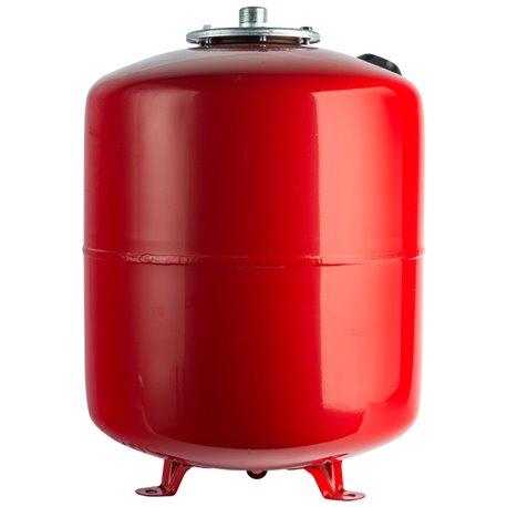 Расширительный бак на отопление 100 л. (цвет красный) Stout