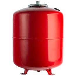 Расширительный бак на отопление 80 л. (цвет красный) Stout