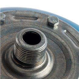 Расширительный бак, гидроаккумулятор 20 л. вертикальный (цвет синий) Stout