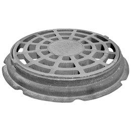 Дождеприёмник чугунный для колодцев тип ДБ ГОСТ 3634-99 исполнение 2