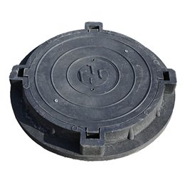 Люк полимерпесчаный тип ГТС (В60) черный