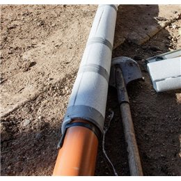 Теплоизоляция трубная Энергофлекс Супер 15х9 мм 2м