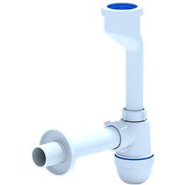 Сифон для писсуара бутылочный без выпуска 32мм с трубой 32 U1003 АНИ Пласт
