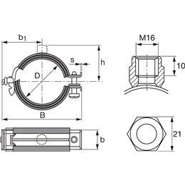 Трубный хомут усил MPN-RC 67/71 A Hilti 335686