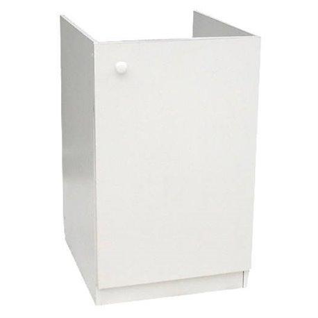 Подстолье для мойки 800х600 белый 2 двери в комплекте ЛесМаркет