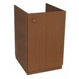 Подстолье для мойки 800х600 дуб 2 двери в комплекте ЛесМаркет
