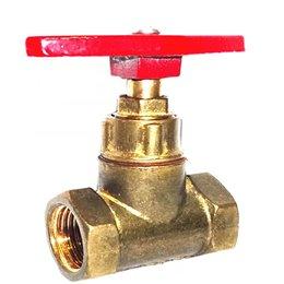 Клапан запорный латунь 15б1п Ду 15 Ру16 ВР прямой ТУ РБ 500059277.015-2000 Цветлит