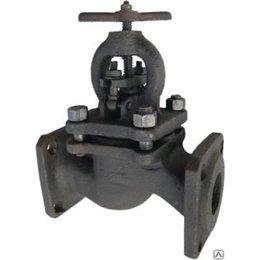Клапан запорный чугун 15кч16нж Ду 32 Ру25 Тмакс300 оС фл со штурвалом Луидор