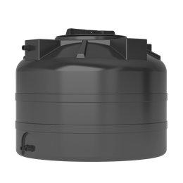Бак для воды ATV-200 (черный) с поплавком Акватек