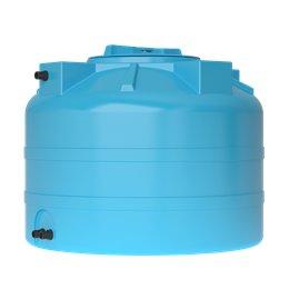 Бак для воды ATV-200 (синий) с поплавком Акватек